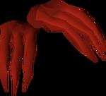 Dragon claws detail