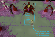 Sire tentacle safe-spot