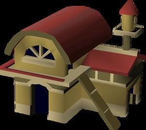 Teak house built