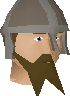 Honour guard (brown beard) chathead