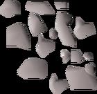 Rod dust detail