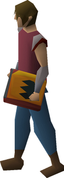 Tome of fire (empty) equipped