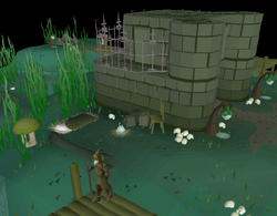 Swamp Priest's living quarters