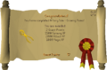 Fairytale I - Growing Pains reward scroll.png
