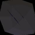 Uncut onyx detail
