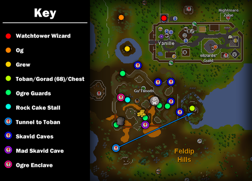 Watchtower map guide
