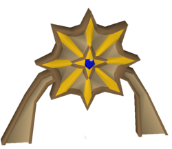 Saradomin icon built