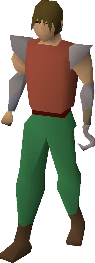 Pirate's hook equipped