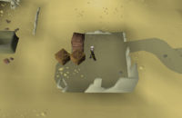 Cryptic clue - search crate uzer