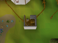 Cryptic clue - search crate outhouse taverley