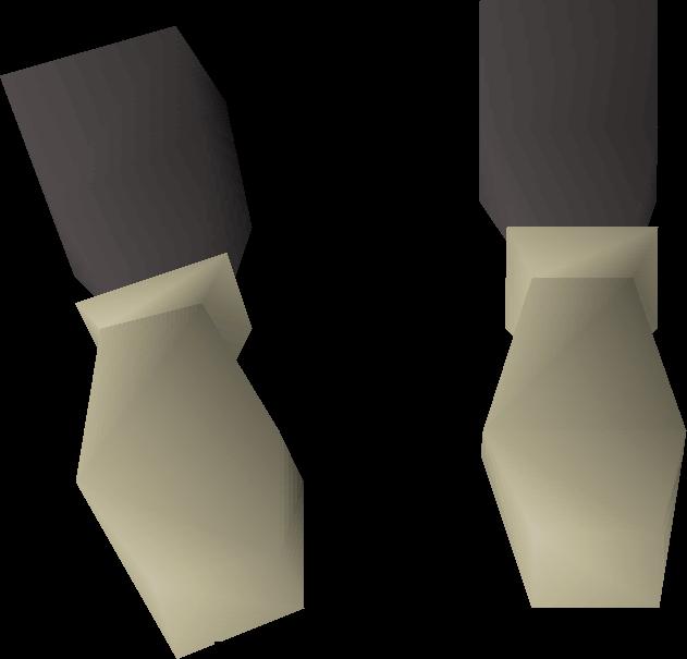 Graceful gloves detail