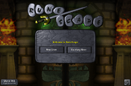 Chambers of Xeric login screen