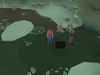 Cryptic clue - dig dagannoth kings