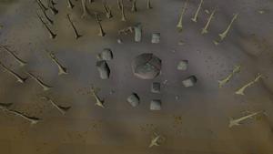 Chaos Altar outside
