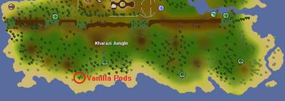 Kharazi Vanilla Pods Location
