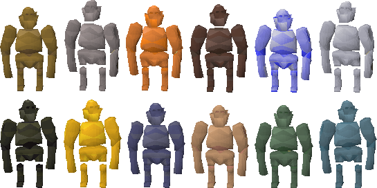Colourful Golems & Graphical Improvements (1)