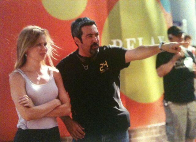 File:24 Jon Cassar Directs Mary Lynn 2.jpg