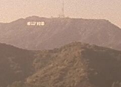 1x16 Hollywood sign