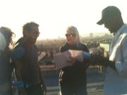 24 Day 4 Roger Cross Rehearses with Kiefer
