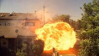 Chuck's Chopper Explodes