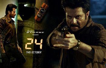 24 India season 1 poster