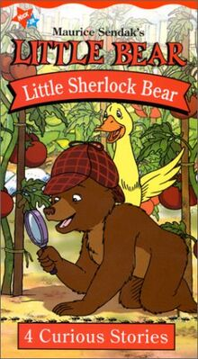 Little Bear Little Sherlock Bear VHS