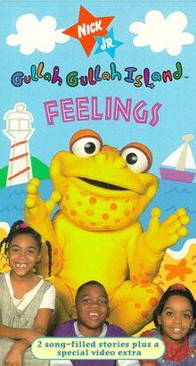 Gullah Gullah Island Feelings VHS