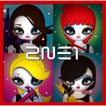 2NE1 2ND MINI Physical Design