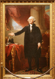 George Washington (Lansdowne portrait), First President (1789-1797)