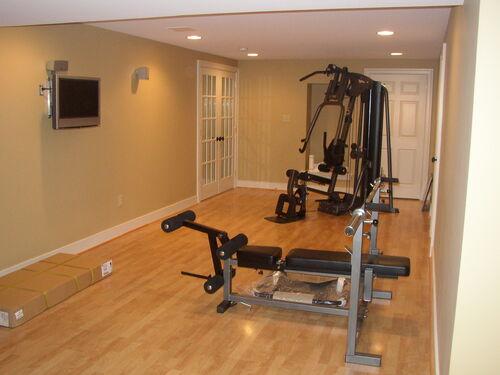 Holt Workout Room