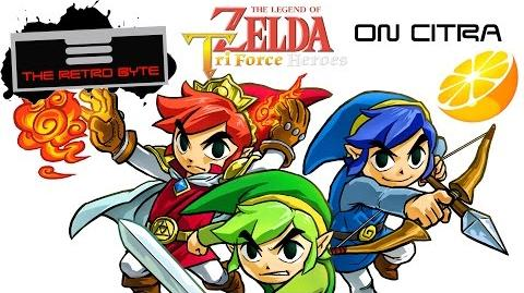 Tri Force Heroes in HD on the 3DS emulator Citra - The Retro Byte
