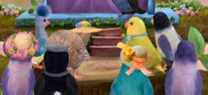 3rd & Bird Minor Bird Characters