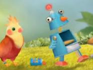 3rd & Bird Penguin Robot Object