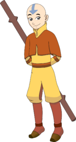 Drawing of Aang