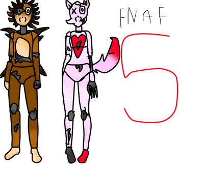 Five nights at freddy s oc bases by nerds need love-d8c09my