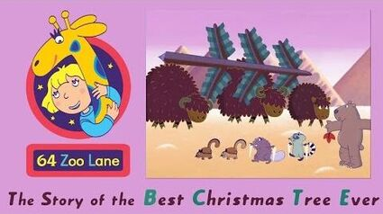 64 Zoo Lane - the Best Christmas Tree Ever S03E19 Cartoon for kids