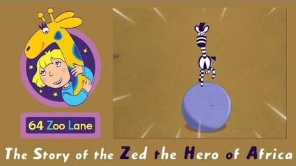 64 Zoo Lane - Zed the Hero of Africa S03E22 Cartoon for kids