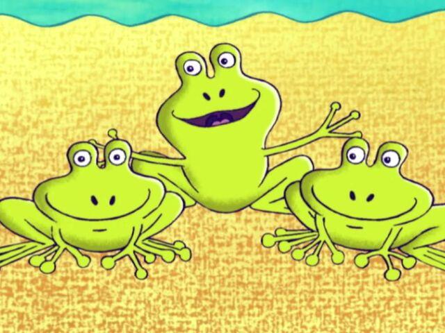 File:Three Frogs.jpg