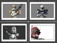 Commanders Frame