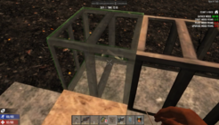 Placing frames