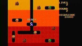 Dig Dug (Namco Jakks Plug n Play) Game Play