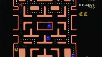 Ms. Pac-Man (Namco Jakks Plug n Play) Game Play