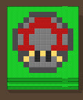 Magic mushroom in error town 7
