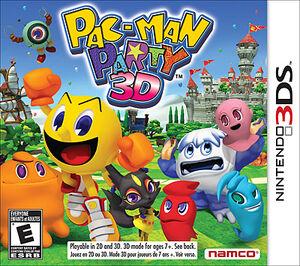 Pac man party 3d boxart