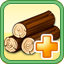 Wood Upgrade Research Icon (Gold)