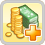 Tax Income Research Icon (Yellow)