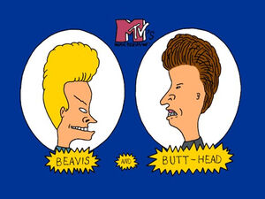Beavis and Butthead Title Card