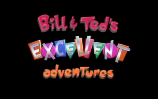 File:Bill & Ted's Excellent Adventures Title Card.png