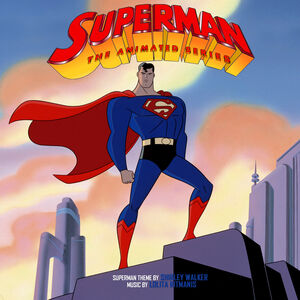 Superman The Animated Series Title Card