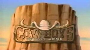 Wild West Cowboys of Moo Mesa Opening